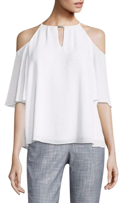 Preload https://img-static.tradesy.com/item/21806647/ellen-tracy-white-textured-cold-shoulder-xl-blouse-size-16-xl-plus-0x-0-1-650-650.jpg