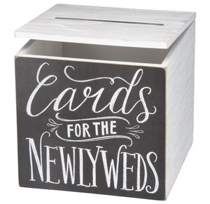 Cards For The Newlyweds Wedding Reception Gift Box Party Collection