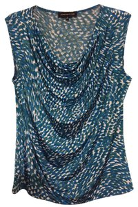 Jones New York Top Blue/Green