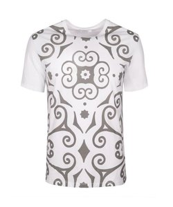 Versace Collection Men's T-shirt With Tags Men T Shirt White/Grey
