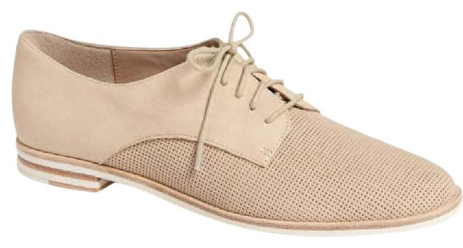 French Connection Nude Tan Dakin Perforated Leather Oxford Flats Size EU 38 (Approx. US 8) Regular (M, B) French Connection Nude Tan Dakin Perforated Leather Oxford Flats Size EU 38 (Approx. US 8) Regular (M, B) Image 1