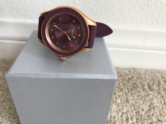 Preload https://img-static.tradesy.com/item/21809239/michele-rose-gold-and-berry-cape-topaz-mww27a000002-watch-0-2-540-540.jpg