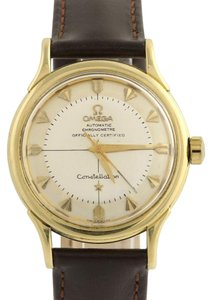 Omega Vintage Omega Constellation Watch Pie Pan 18K Gold Automatic 354 Bumpe
