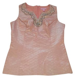 Lilly Pulitzer Top peach