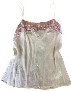 Pins and Needles Silk Camisole Lingerie Size Small Top Cream