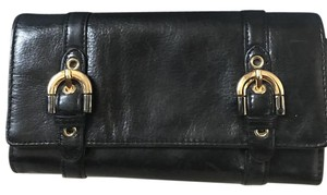 Badgley Mischka Fold over Wallet/Clutch With Buckle detail