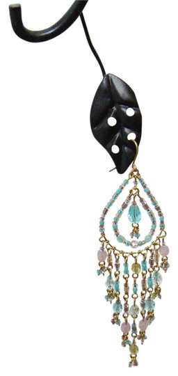 Preload https://item5.tradesy.com/images/gold-toned-pink-and-blue-dainty-chandelier-earrings-2181084-0-0.jpg?width=440&height=440