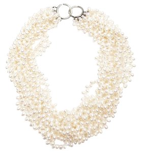 Tiffany & Co. Tiffany & Co Picasso 925 Silver Freshwater Pearl 8 Strands Necklace