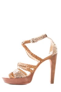 Alexandre Birman Tan Sandals