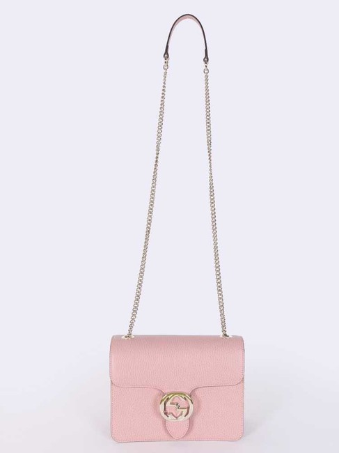Gucci Guccissima Pink Cross Body Bag Gucci Guccissima Pink Cross Body Bag Image 1