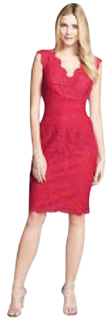 Preload https://img-static.tradesy.com/item/21811694/tadashi-shoji-red-lace-mid-length-formal-dress-size-18-xl-plus-0x-0-1-650-650.jpg