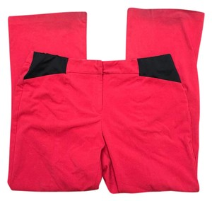 Briggs Boot Cut Pants black and red