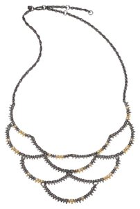 Alexis Bittar spiky bib necklace