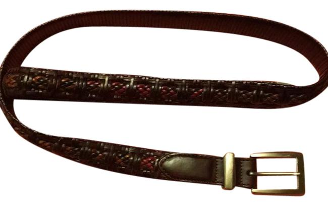 Brighton Black/Brown Multi P6708 Belt Brighton Black/Brown Multi P6708 Belt Image 1