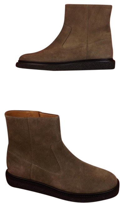 Isabel Marant Gray Taupe Suede Connor Zip Up Ankle Boots/Booties Size EU 37 (Approx. US 7) Regular (M, B) Isabel Marant Gray Taupe Suede Connor Zip Up Ankle Boots/Booties Size EU 37 (Approx. US 7) Regular (M, B) Image 1