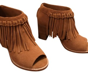 Sbicca Luggage Tan Boots