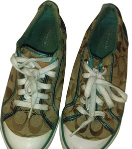Coach Brown/ turquoise Athletic