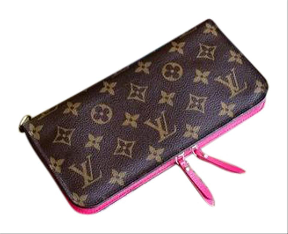 118424ef916 Louis Vuitton Louis Vuitton Monogram Insolite Wallet Rose Pop Pink Image 0  ...