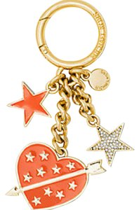 Michael Kors Michael Kors lucky Heart Key Chain key charm fob pretty!!! Box NWT