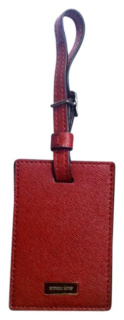 Michael Kors Red Kyle Luggage Tag 2 Boxes Travel Cardinal Michael Kors Red Kyle Luggage Tag 2 Boxes Travel Cardinal Image 1