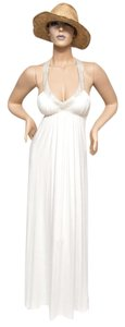 Ivory Maxi Dress by Ingwa Melero 80 Pmd Sexy Beachy Long