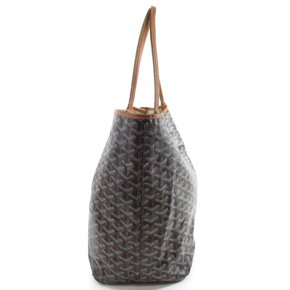 f7c35a7a5c8f9 Goyard Saint Louis Gm Large Brown Black Tote - Tradesy