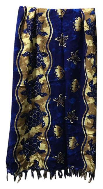 Preload https://img-static.tradesy.com/item/21816515/blue-and-gold-body-wrap-cover-upsarong-size-18-xl-plus-0x-0-1-650-650.jpg