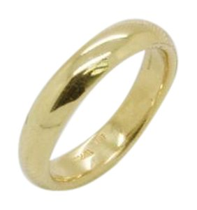 Tiffany & Co. Yellow Gold Classic Band 4mm Wide 18k Vintage Ring