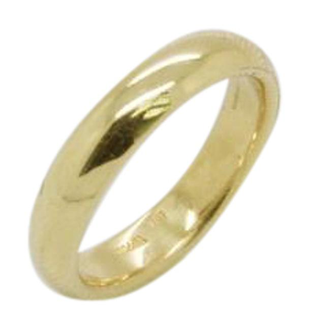 Tiffany & Co. Yellow Gold Classic Band 4mm Wide 18k Vintage Ring Tiffany & Co. Yellow Gold Classic Band 4mm Wide 18k Vintage Ring Image 1