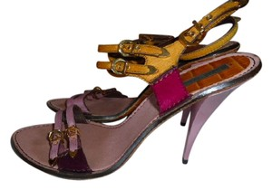 Louis Vuitton FUSCHIA, PINK, GOLDEN YELLOW Mules
