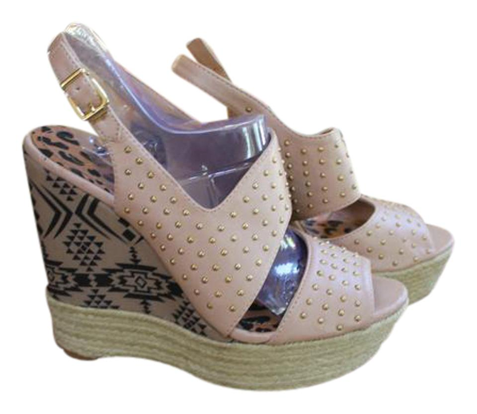 3cec20e56213 Jessica simpson dusty pink mojave rattan wore once wedges size jpg 960x833 Wedge  shoes jessica simpson