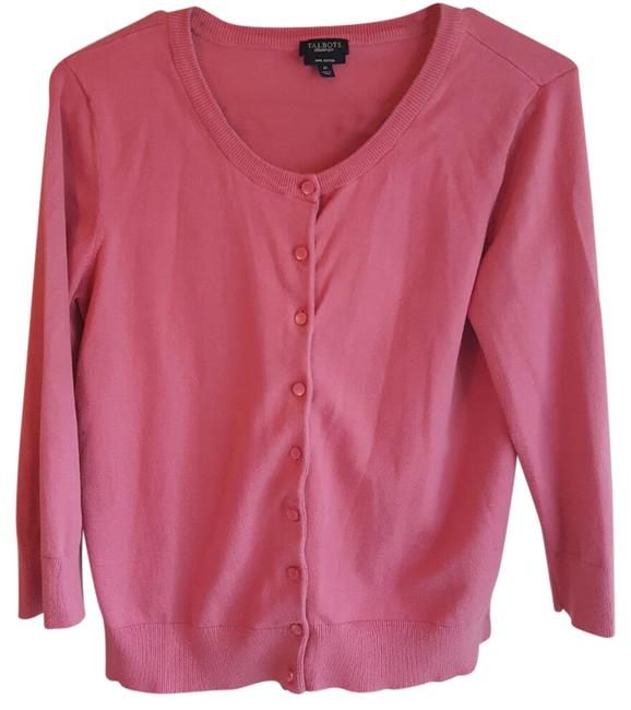 Preload https://img-static.tradesy.com/item/21817240/talbots-34-sleeve-button-down-cardigan-sweaterpullover-size-8-m-0-1-650-650.jpg