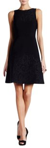 Vera Wang A-line Fitted Dress