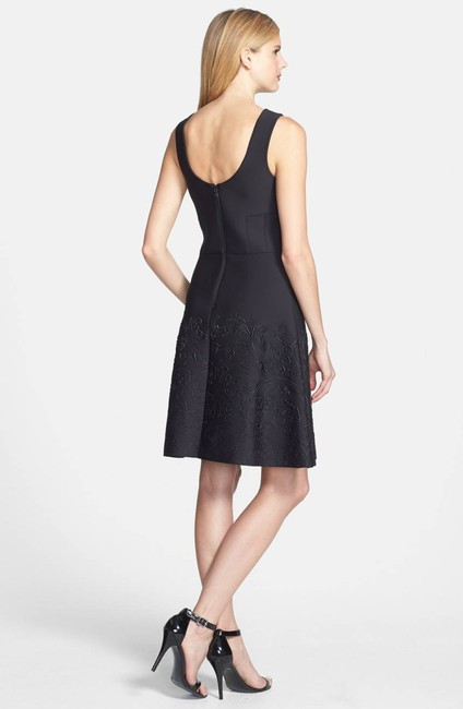 Vera Wang A-line Fitted Dress Image 1