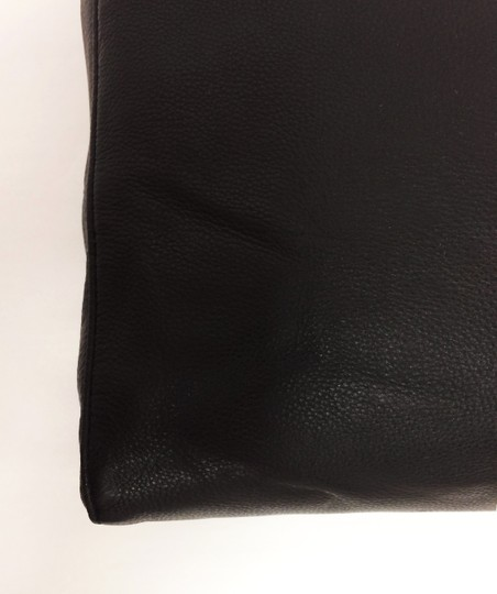 MICHAEL Michael Kors Jet Set North South Leather Tote in Black Image 8
