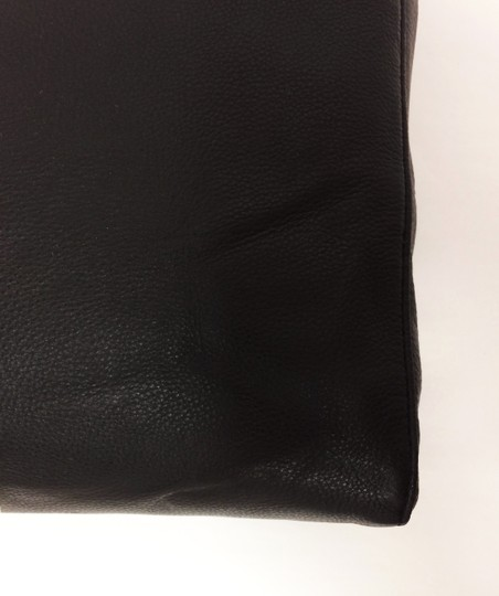MICHAEL Michael Kors Jet Set North South Leather Tote in Black Image 9