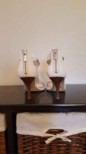 Michael Kors white leather Sandals Image 1