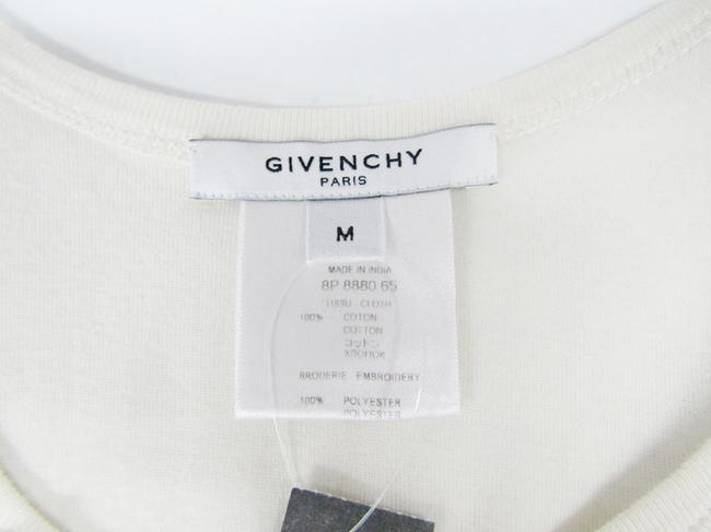 Givenchy Ruffled Cotton Sleeveless Top ivory Image 2