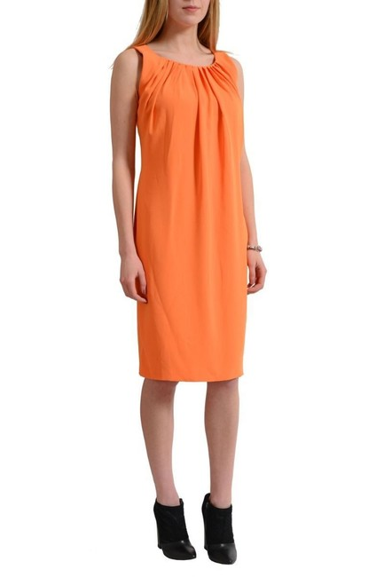 Versace Collection short dress Orange on Tradesy Image 1