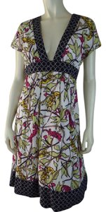 Corey Lynn Calter short dress Multicolored Retro Lined Empire Waist Fitted on Tradesy