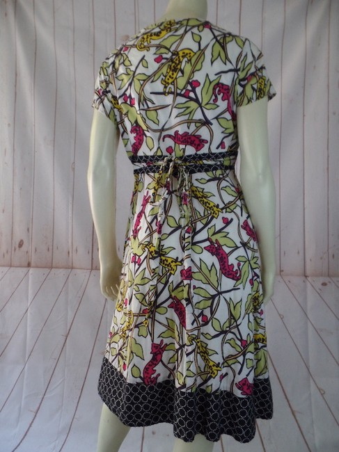 Corey Lynn Calter short dress Multicolored Retro Lined Empire Waist Fitted on Tradesy Image 2