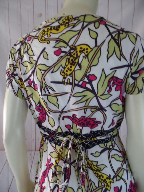 Corey Lynn Calter short dress Multicolored Retro Lined Empire Waist Fitted on Tradesy Image 3