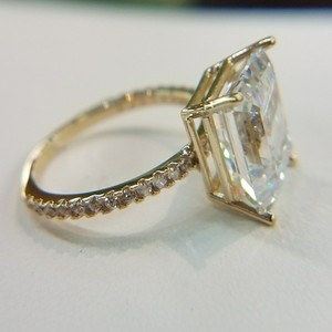 used engagement rings preowned engagement rings tradesy - Preowned Wedding Rings