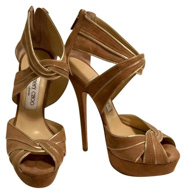 Jimmy Choo Nude Koko Pumps Size US 7 Regular (M, B) Jimmy Choo Nude Koko Pumps Size US 7 Regular (M, B) Image 1