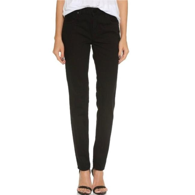 Alexander Wang Relaxed Fit Jeans-Dark Rinse Image 1