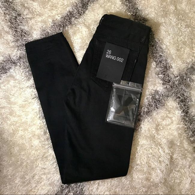 Alexander Wang Relaxed Fit Jeans-Dark Rinse Image 4