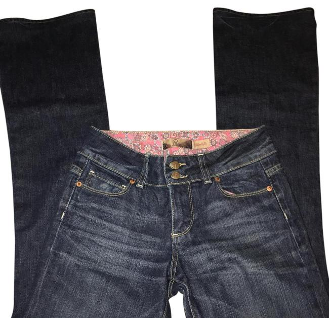Paige Dark Rinse Flare/Boot Boot Cut Jeans Size 25 (2, XS) Paige Dark Rinse Flare/Boot Boot Cut Jeans Size 25 (2, XS) Image 1