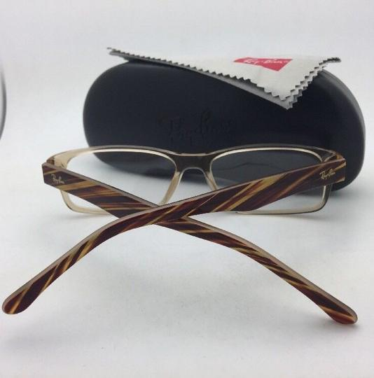 Ray-Ban RAY-BAN Rx-able Eyeglasses RB 5203 2466 55-16 145 Brown Transparent Image 1