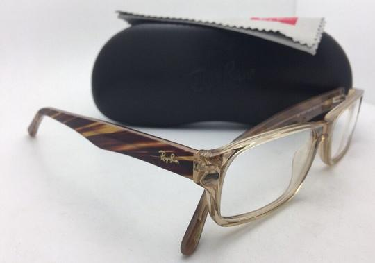 Ray-Ban RAY-BAN Rx-able Eyeglasses RB 5203 2466 55-16 145 Brown Transparent Image 11