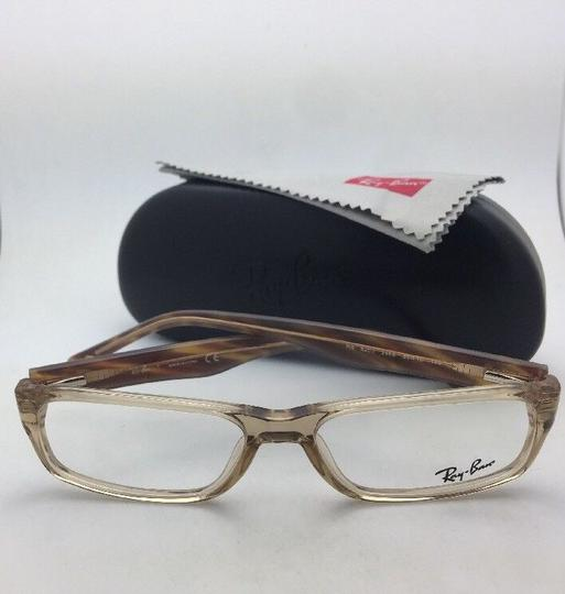 Ray-Ban RAY-BAN Rx-able Eyeglasses RB 5203 2466 55-16 145 Brown Transparent Image 6